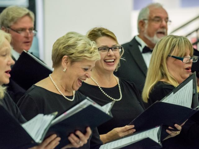 Chamber Singers Concert at Selby Library - All of Key Chorale's singers are accepted into the chorale through an audition process and Chamber Singers are selected through a second audition.
