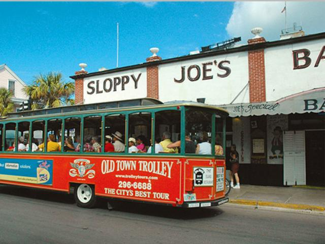 Sloppy Joe's and Old Town Trolley - Sloppy Joe's and the Key West Old Town Trolley