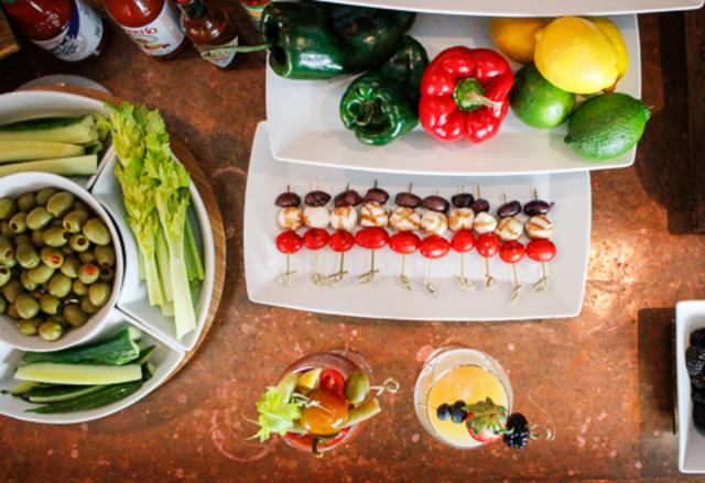Unlimited Bloody Mary Bar