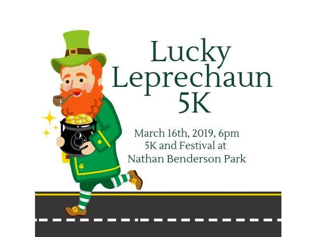 Lucky Leprechaun 5K 5K Race and Festival at Nathan Benderson Park