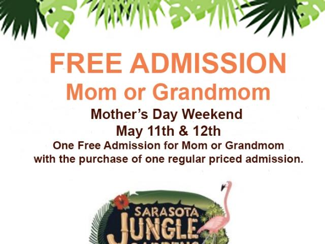 Free Admission for Moms or Grandmoms