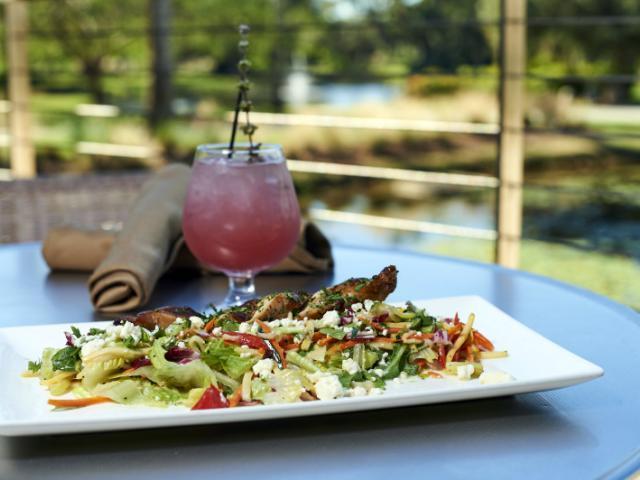 Grilled Chicken & Vegetable Salad