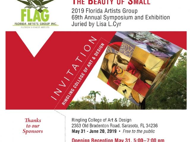"""""""The Beauty of Small"""" Exhibit at the Ringling College of Art  & Design"""