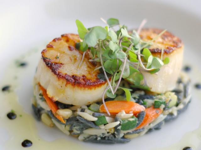 Ophelia's on the Bay - Scallops at Ophelia's on the Bay