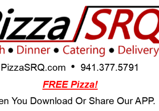Logo 2 - Logo 2 - PizzaSRQ. Lunch, Dinner, Catering and Delivery.