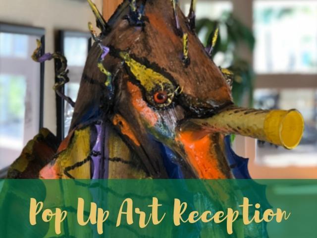 Pop Up Art Reception