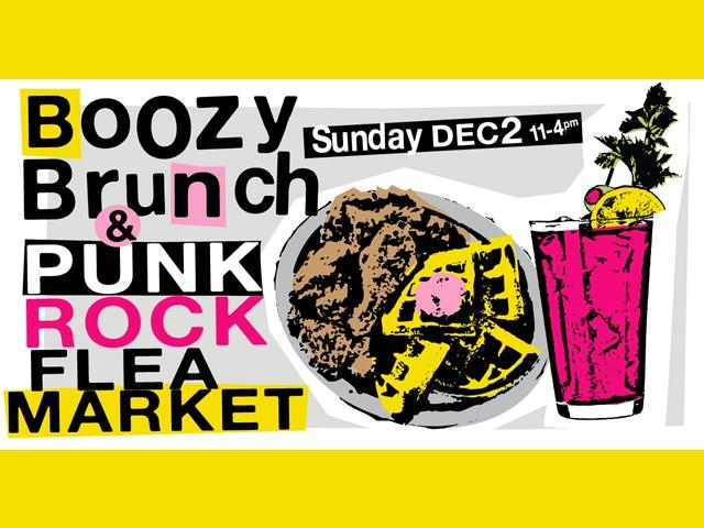 Punk Rock Flea Market & Boozy Brunch