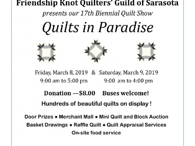 Quilts in Paradise