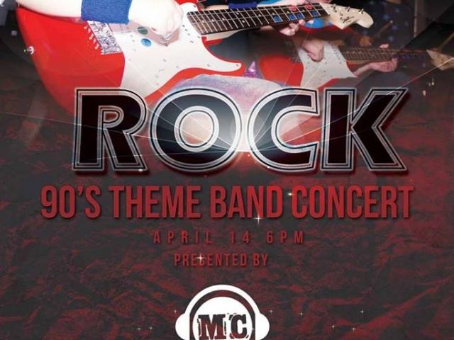 Rock- 90s Theme Band Concert