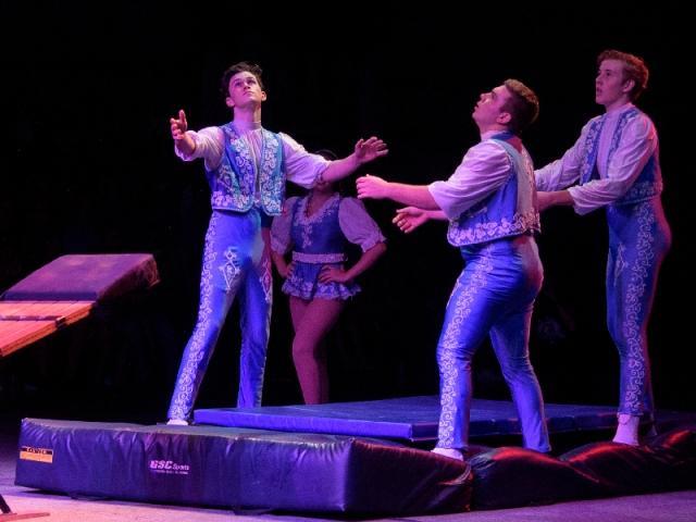 Sailor Circus Presents Big Top Holidays