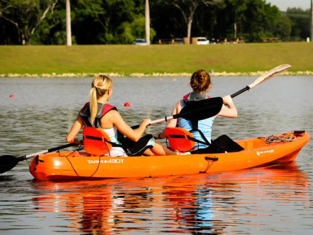 Kayak, SUP, and Single Scull rentals area available!