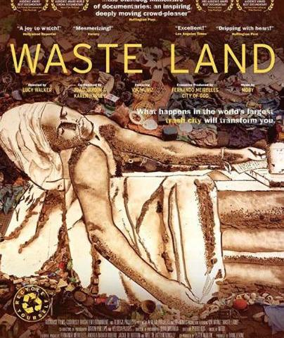 """Art On Film: Waste Land, February 12 - Filmed over nearly three years, Waste Land follows renowned artist Vik Muniz as he journeys from his home base in Brooklyn to his native Brazil and the world's largest garbage dump, Jardim Gramacho, located on the outskirts of Rio Janeiro. There he photographs an eclectic band of """"catadores"""" -- self designated pickers of recyclable materials. Muniz's initial objective was to """"paint"""" the catadores with garbage. However, his collaboration with these inspiring characters as they recreate photographic images of themselves out of garbage reveals both the dignity and despair of the catadores as they begin to re-imagine their lives. Directed by Lucy Walker."""