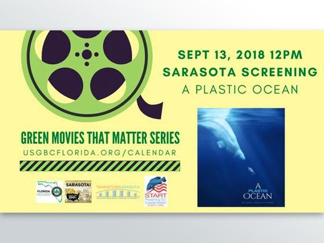 Sarasota Film Screenings: A Plastic Ocean