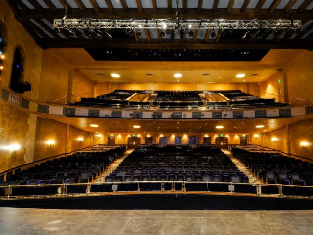 Sarasota Opera House View from Stage - The William E. Schmidt Opera Theatre view from the stage.
