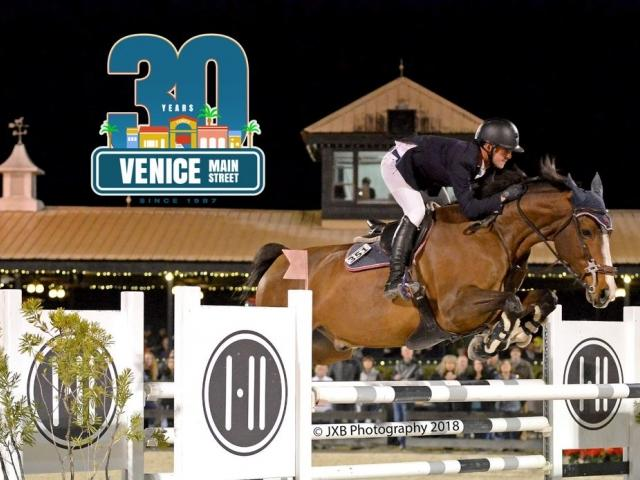 Grand Prix Horse Show Jumping