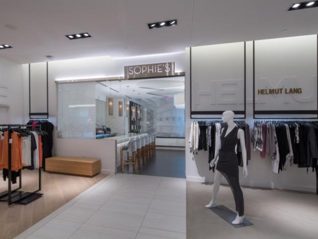 Inside Saks Fifth Avenue