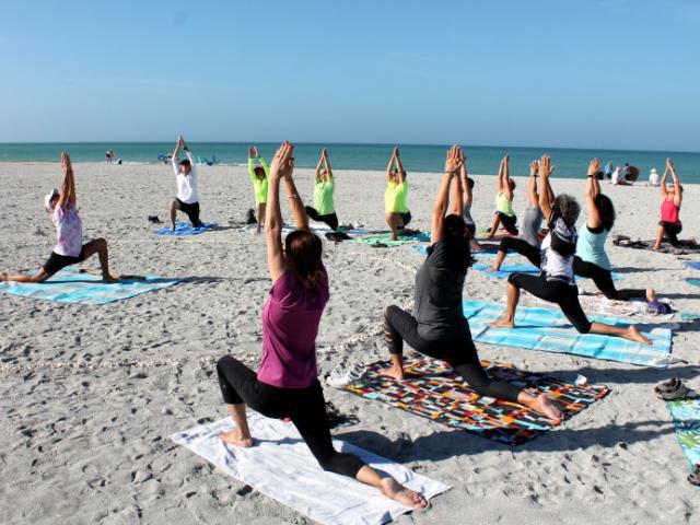 Beach Yoga photo
