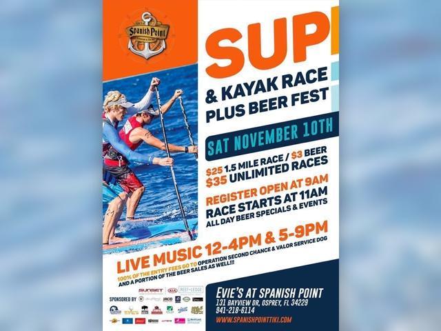 SUP & Kayak Race Plus Beer Fest