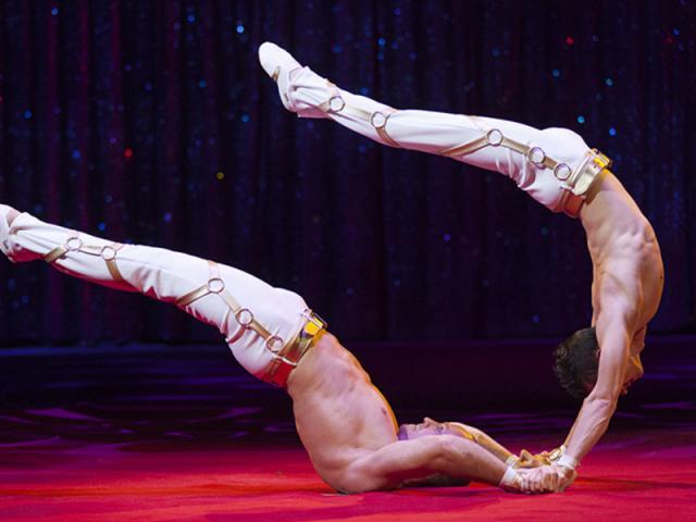 Circus Arts Conservatory 2018 - Credit: Cliff Roles - Duo KVAS-1572