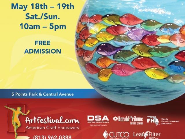 The Downtown Sarasota Craft Festival