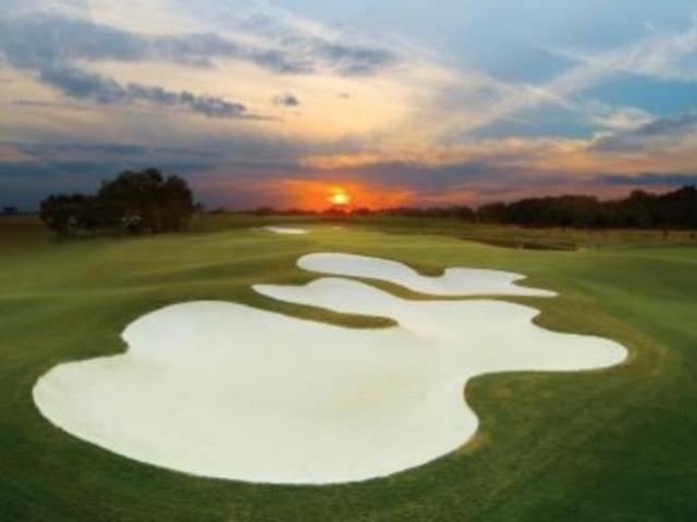 Sunset on Course