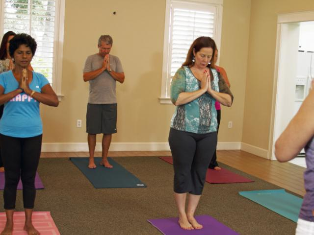 Pilates & Yoga Class