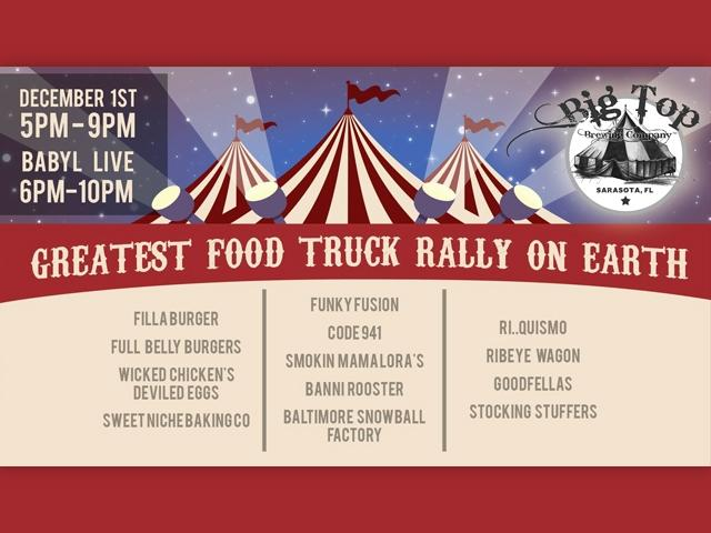 The Greatest Food Truck Rally On Earth Visit Sarasota