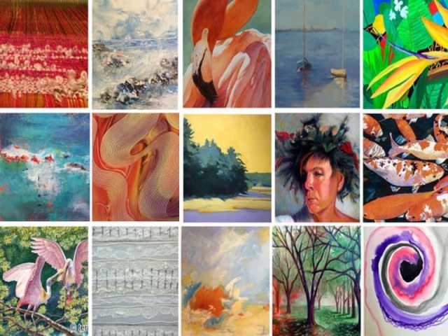 Artists of Towles Court - Over 15 artists have their studios in Towles Court!