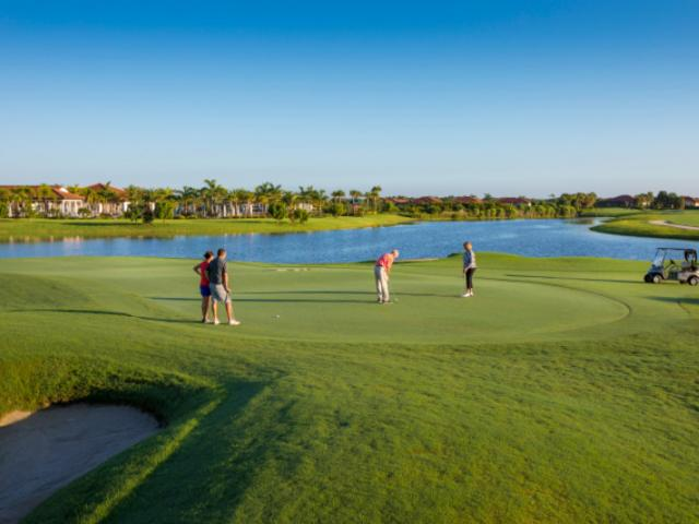Golf is a favorite sport in West Villages Florida. - Sarasota National at West Villages is a golf course community with 18 holes of championship golf and a world-class country club.