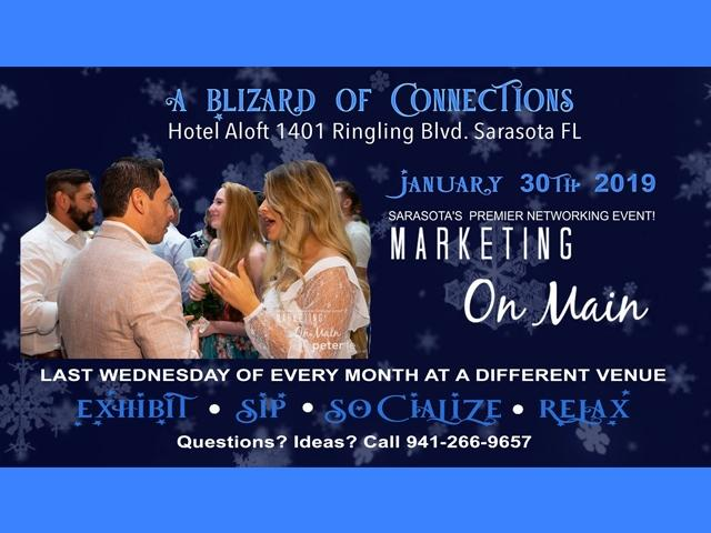 January 30th (XL) Marketing on Main + Aloft Sarasota