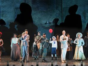 Asolo Rep RAGTIME - Cast of Asolo Rep's production of RAGTIME. Photo by Cliff Roles.