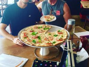 John & Ari Tatum - PizzaSRQ - John & Ari Tatum. PizzaSRQ.