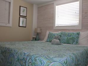The Nook - Bedroom, King Serta ICOMFORT memory foam beds