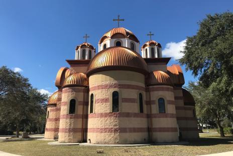 St. Sava Church in North Port Florida