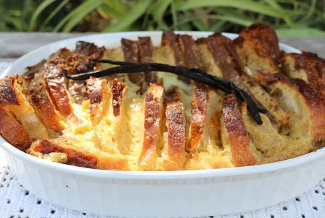 Florida Orange Bread and Butter Pudding
