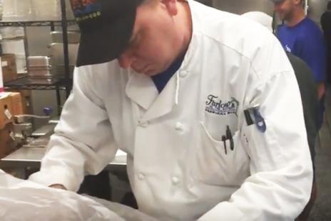 Chef John Mazza - Fish Prep