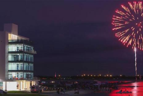 Fireworks at Nathan Benderson Park