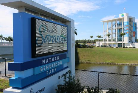 Nathan Benderson Park, walking / jogging track