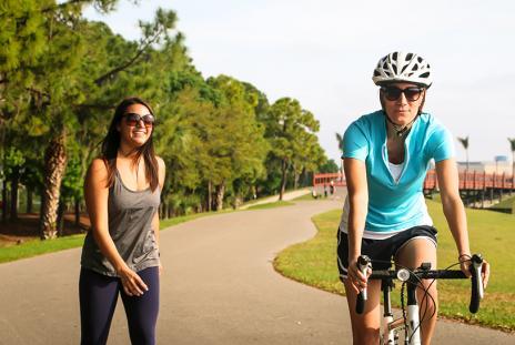 Nathan Benderson Park Biking - Photo by Eddie Kirsch