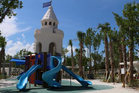 Siesta Key Beach - Playground