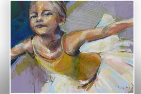 Tim Jaeger - Siena.  Part of Art Center Sarasota Instructors Show