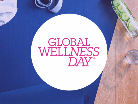 Flyer for Global Wellness Day event