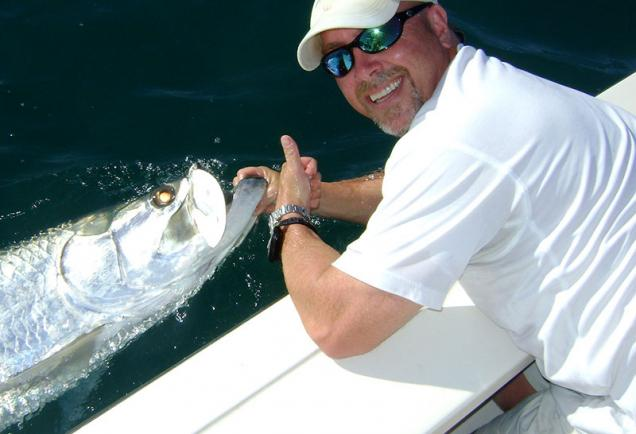 """The """"silver kings"""" put up a memorable fight for those lucky enough to hook them [Photo: Nicole Coudal]"""