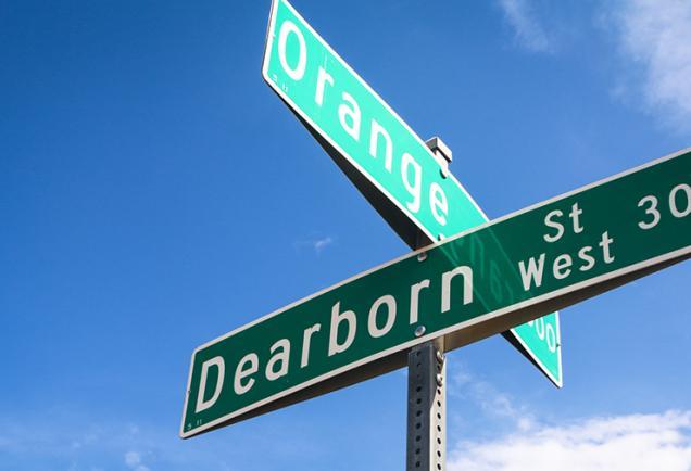 Dearborn Street in Englewood Fl