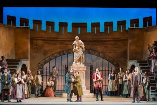 Sarasota Opera. Final scene from Beethoven's FIDELIO. Photo by Rod Millington