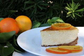 Authentic Florida Orange Cheesecake