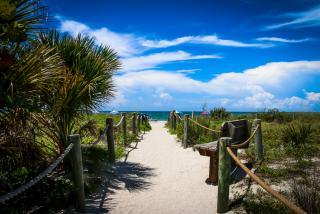 Blind Pass Beach in Sarasota Florida