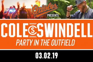 Cole Swindell Party in the Outfield - 03.02.19
