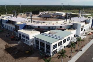 construction of new atlanta braves spring training complex in sarasota