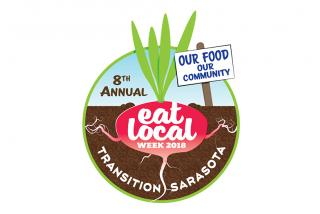 "Logo. ""Eat Local Week"" is October 19-28, 2018! Photo by Nicole Coudal"